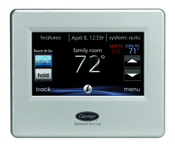 Infinity Touch Control Thermostat